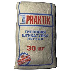 Praktik ГИПСОВАЯ ШТУКАТУРКА ЛЕГКАЯ, 30 кг