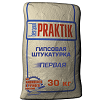 Praktik ГИПСОВАЯ ШТУКАТУРКА ПЕРВАЯ, 30 кг