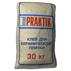 Praktik состав для керамической плитки, 30 кг