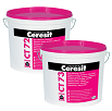 Ceresit CT 72/CT 73 Силикатные декоративные штукатурки: «камешковая» 1,5/2,5 мм и «короед» 2,0 мм