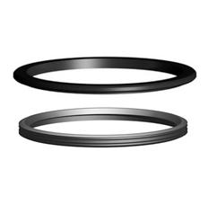 Прижимное и уплотнительное кольца тип М