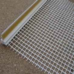 Профиль примыкания оконный 6 мм с сеткой самоклеющийся