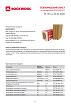 Технический лист Венти Баттс ОПТИМА